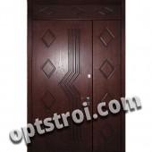 Двустворчатая металлическая дверь. Модель А419-03