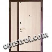 Двустворчатая металлическая дверь. Модель А423-03