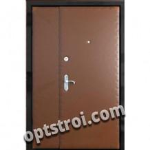 Двустворчатая металлическая дверь. Модель А449-03