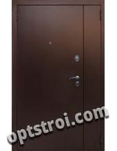 Металлическая дверь для дачи - модель Д10-39