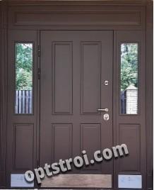 Металлическая дверь в коттедж