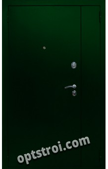 Двустворчатая металлическая дверь. Модель С200-004