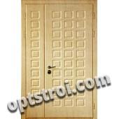 Двустворчатая металлическая дверь. Модель С200-005-10