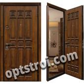 Уличная входная металлическая дверь. Модель У10-01