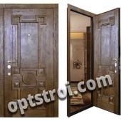Уличная входная металлическая дверь. Модель У10-04