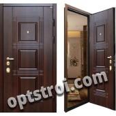 Уличная входная металлическая дверь. Модель У10-06