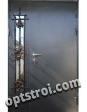 Нестандартная входная металлическая дверь Т10-07