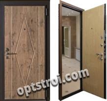 Входная металлическая дверь в загородный дом. Модель А582-06