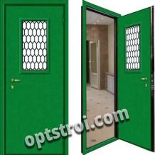 Входная  металлическая дверь в техническое помещение. Модель А629-09