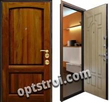Входная металлическая дверь в частный дом или коттедж. Модель А193-02