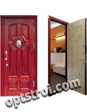 Входная металлическая дверь в коттедж. Модель А403-02