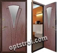 Входная металлическая дверь в коттедж. Модель А621-08