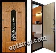 Входная металлическая дверь для загородного дома. Модель А619-08