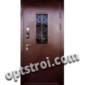 Нестандартная  металлическая дверь. Модель Утес