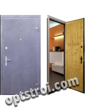 Металлическая дверь для дачи - модель Д10-35