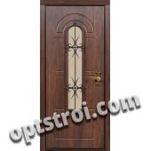 Входная металлическая дверь в загородный дом. Модель 859