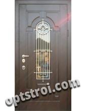 Входная металлическая дверь в загородный дом. Модель 861