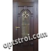 Входная металлическая дверь в загородный дом. Модель 864