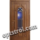 Входная металлическая дверь в загородный дом. Модель 865