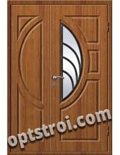 Входная металлическая дверь в коттедж - модель КТ-012
