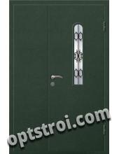 Входная металлическая дверь в коттедж - модель КТ-019