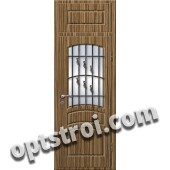 Входная металлическая дверь в коттедж - модель КТ-021
