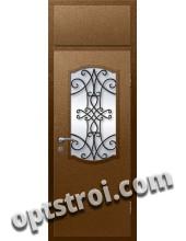 Входная металлическая дверь в коттедж - модель КТ-028
