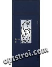 Входная металлическая дверь в коттедж - модель КТ-029