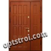 Входная металлическая двустворчатая дверь - модель 887