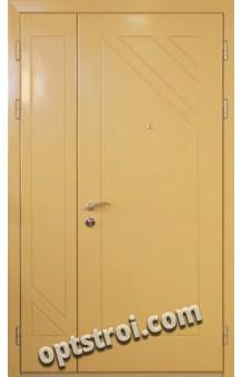 Входная металлическая двустворчатая дверь - модель 892
