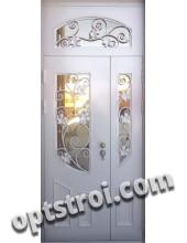 Нестандартная  металлическая дверь. Модель Луара