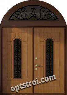 Нестандартная  металлическая дверь. Модель Ла Скала