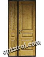 Нестандартная  металлическая дверь. Модель Осень