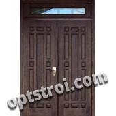 Нестандартная  металлическая дверь. Модель Скандия