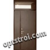Нестандартная  металлическая дверь. Модель Тайга