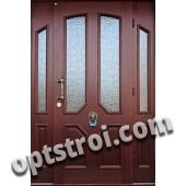 Нестандартная  металлическая дверь. Модель Шевалье