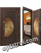 Теплая металлическая входная дверь для дома - модель 901