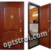Теплая металлическая входная дверь для дома - модель 906