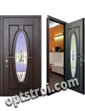 Теплая металлическая входная дверь для дома - модель 911