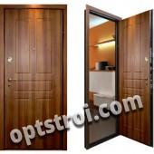 Входная металлическая дверь с повышенной тепло-шумоизоляцией - модель 869