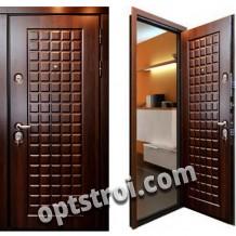 Входная металлическая дверь с повышенной тепло-шумоизоляцией в С-пб