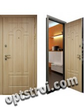 Входная металлическая дверь с повышенной тепло-шумоизоляцией - модель 883