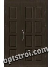 Входная металлическая двухстворчатая дверь ПР-001