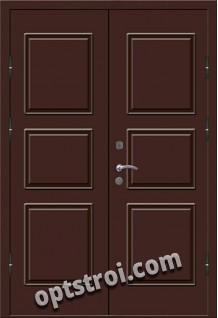 Входная металлическая двухстворчатая дверь ПР-016