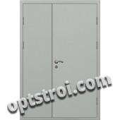 Входная металлическая двухстворчатая дверь ПР-004