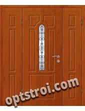 Входная металлическая двухстворчатая дверь ПР-006
