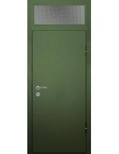 Входная металлическая дверь со стеклом модель - СТ-002