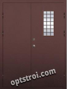 Входная металлическая техническая дверь ТЕХ-015