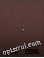 Входная металлическая техническая дверь ТЕХ-016