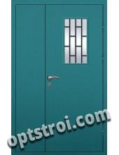 Входная металлическая техническая дверь ТЕХ-019